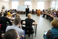 Хабаровский митрополит провел мастер-класс по святоотеческой психологии