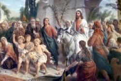 События Вербного воскресенья. Вход Господень в Иерусалим